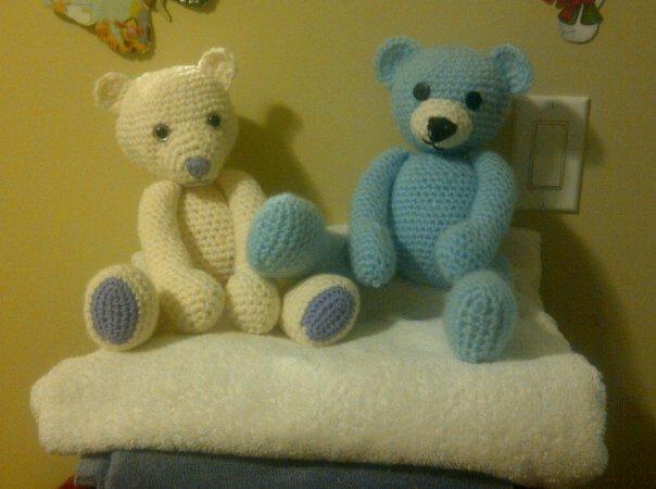 Amigurumi Teddy Bears : Teddy bear beautiful nightmare