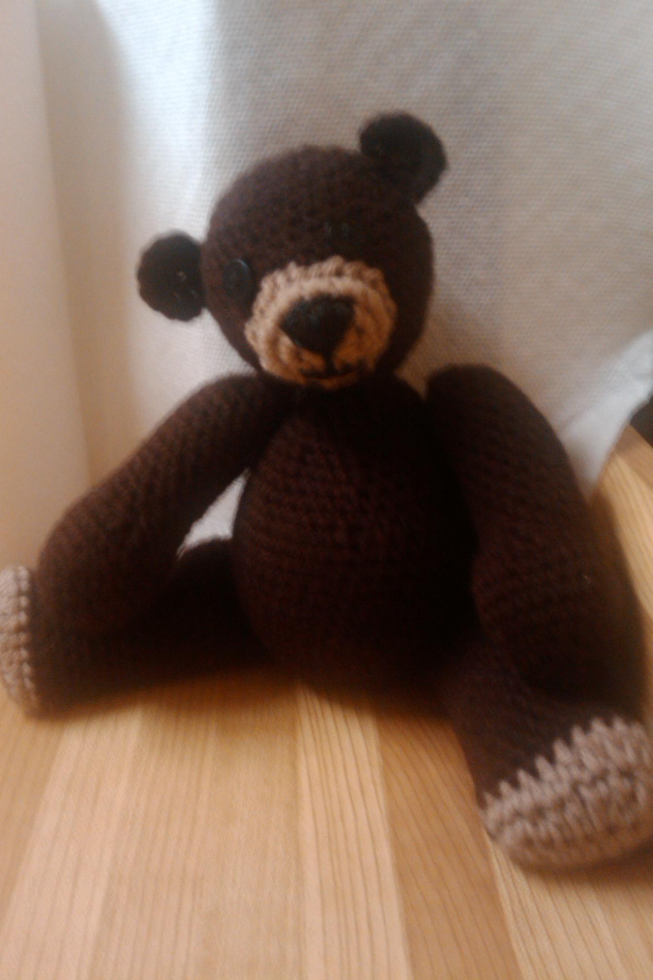 Chocolate Old Fashioned Teddy Bear | Beautiful Nightmare