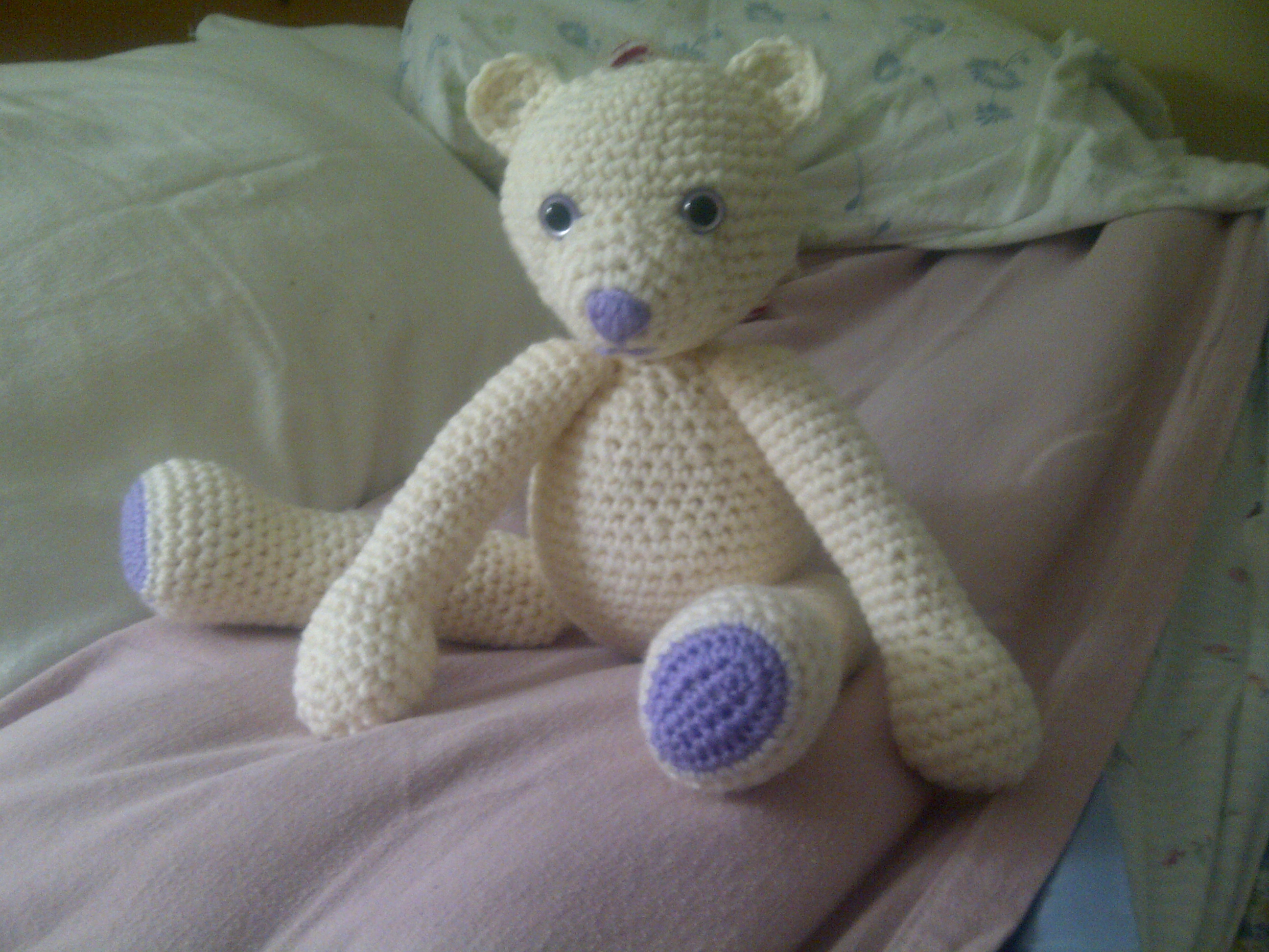 Crochet Teddy Bear : ... CROCHET PATTERN TO MAKE TEDDY BEAR - Easy Crochet Patterns
